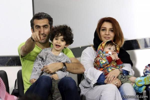 تصاویری جدید از مجتبی جباری و همسرش عقیق