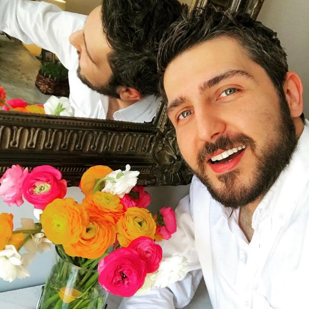 عکس لورفته از محمدرضا غفاری و باران کوثری در پشت صحنه