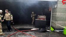 حادثه وحشتناک در مترو؛ متروی قیطریه آتش گرفت!