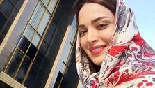 ظاهر جنجالی بهنوش طباطبایی در خیابانهای مشهد! +عکس