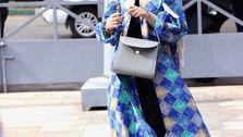 تیپ خارجی ویدا جوان در ماشین لاکچری اش! +عکس همسرش