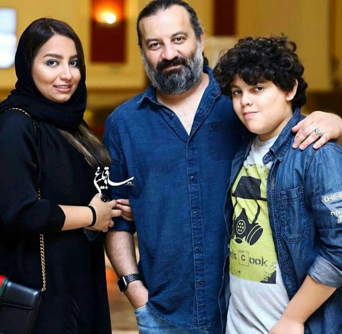 پیام خنده دار محراب قاسم خانی به دخترش