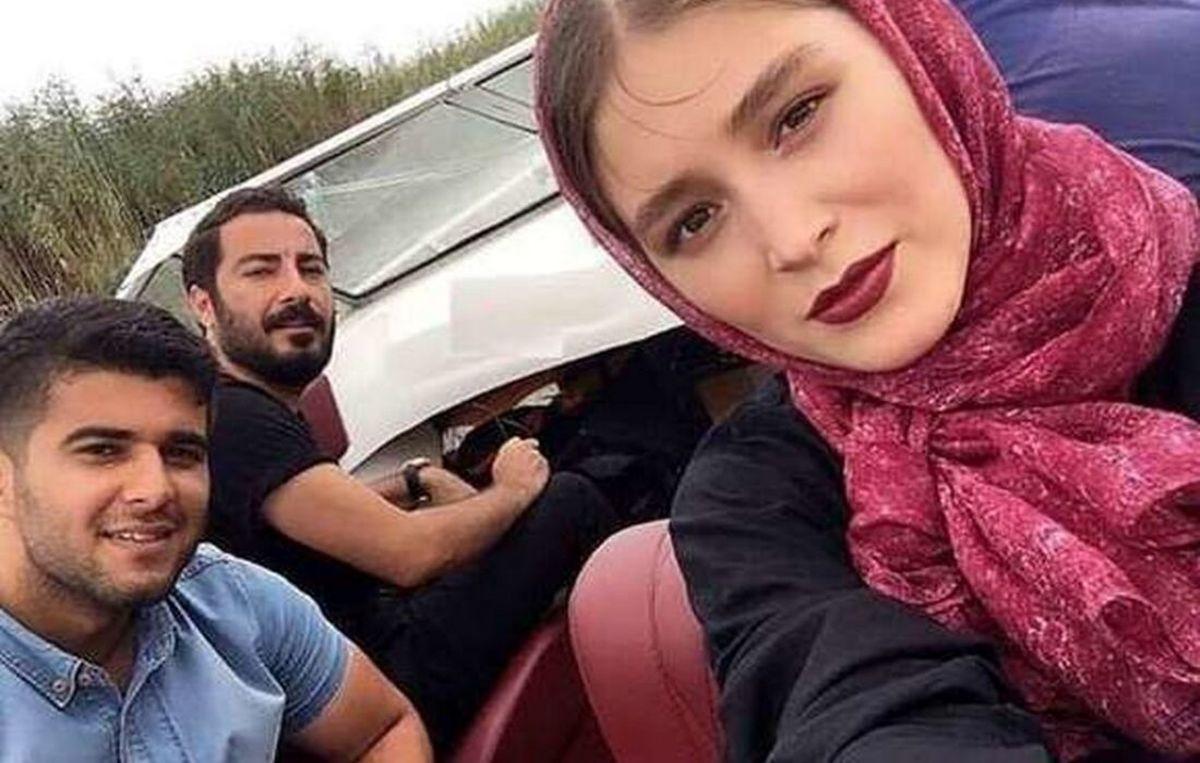 نوید محمدزاده و فرشته حسینی ازدواج کردند +حلقه ازدواج