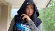 لباس پیکانی لیندا کیانی + عکس