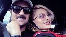 تصاویر منتشر شده از عروسی احمد مهرانفر و همسرش! +عکس