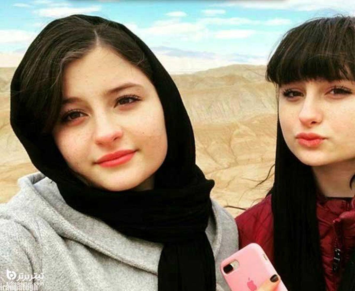 تصویر با حجاب سارا و نیکا در سوئد جنجالی شد +تصاویر دونفره