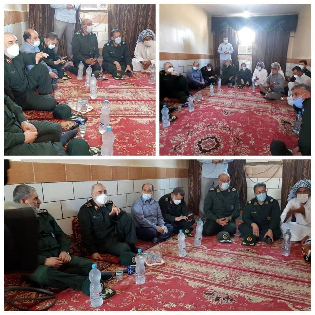 فرمانده سپاه: کنار مردم خوزستان هستیم