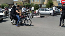 حادثه ناگوار در قم؛ مرگ دختر 8 ساله وسط خیابان!