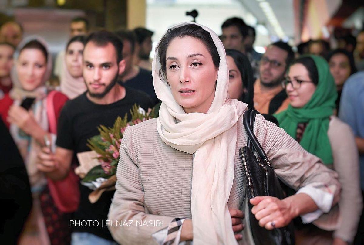 لباس گل گلی و گرانقیمت هدیه تهرانی سوژه شد +عکس