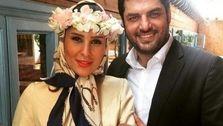 تصاویر لورفته از جشن عروسی سام درخشانی و همسرش! +عکس