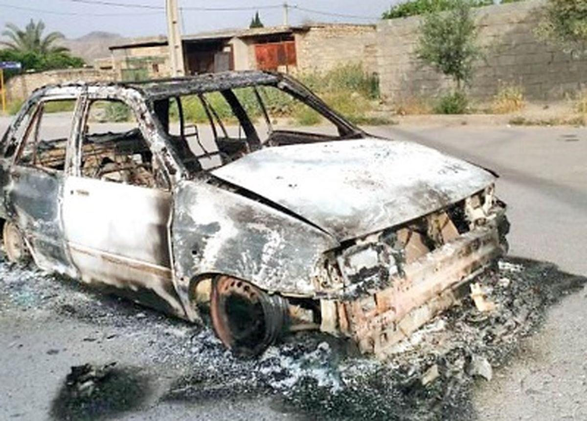 آتش زدن خانه قاتلان پس از قتل دردناک 2 مرد