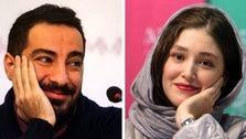 ست پلنگی نوید محمدزاده و فرشته حسینی سوژه شد! +تصاویر عاشقانه