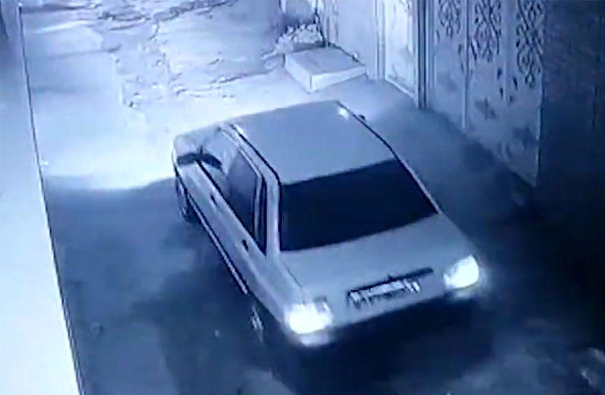 سرقت پراید در کمتر از یک دقیقه!+فیلم لحظه سرقت