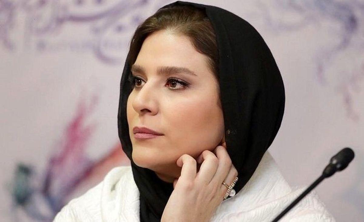 استایل متفاوت سحر دولتشاهی در پشت صحنه سریال معروفش + عکس