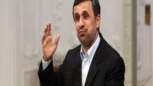 واکنش احمدی نژاد به حادثه نطنز