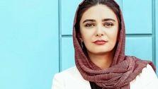 فیگور جالب لیندا کیانی با روسری در نشست خبری جشنواره +عکس