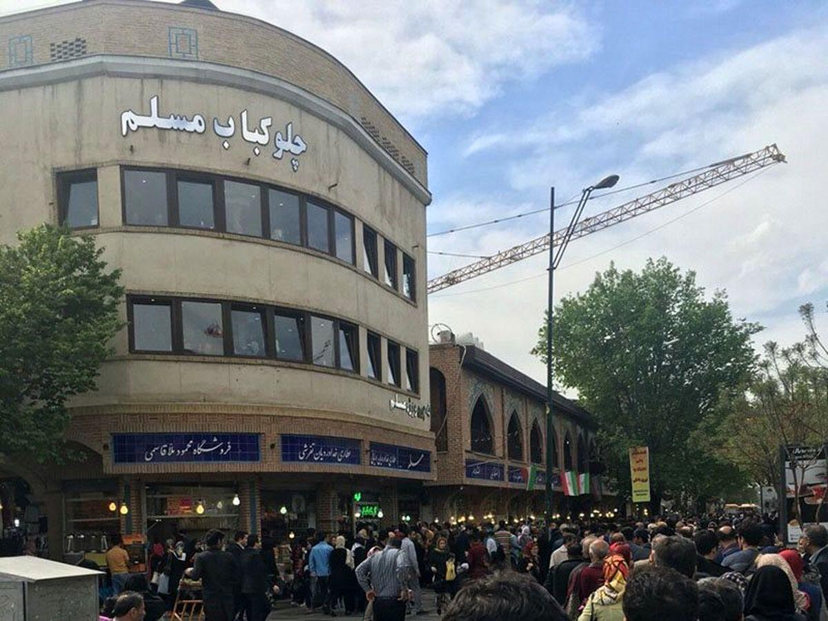 رستوران مسلم؛ تنها رستوران اصیل ایرانی در بازار تهران